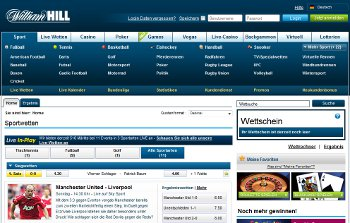 William Hill Bonus Sportwetten